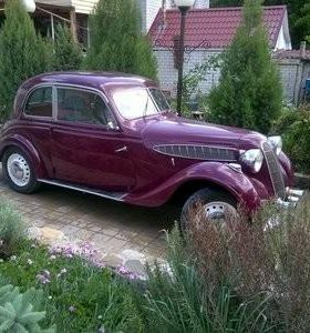 BMW 321 cup 1939 года