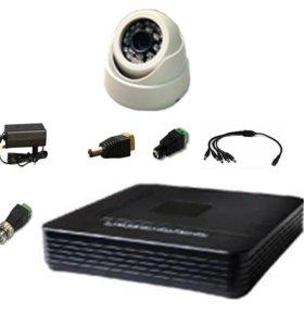 Видеонаблюдение для дома, комплекты, камеры.