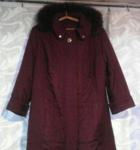 Пальто зима 60размер новое