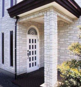 Фасадные работы,сайдинг,фасадные панели
