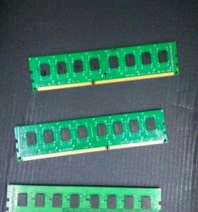 DDR3 2гб. 1333 MHz
