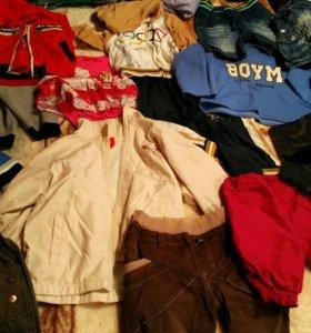 Распродажа детской одежды от 100 до 350р