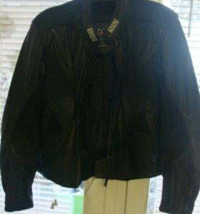 Фирма Ixs, Куртка кожаная мотоциклетная мужская