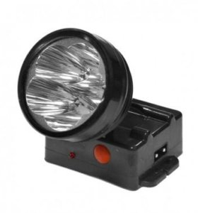 Фонарь налобный LED-526 аккумуляторный 5Led