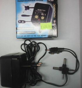 Адаптер AC/DC 220V/1.5-12V PC300ROBITON