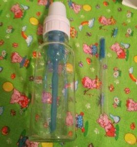 Новая бутылочка Dr.Brown's стекло