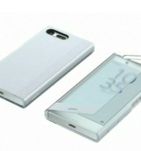 Sony xperia x compact style cover touch sctf20 blu