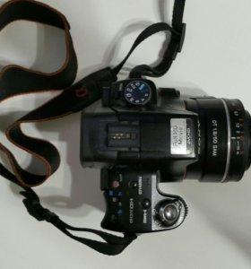 Фотоаппарат Sony Alpha 330 и объектив 50mm f1.8