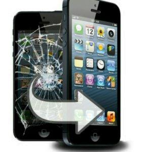Дисплеи на iphone 5s black