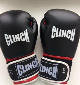 Перчатки боксёрские.