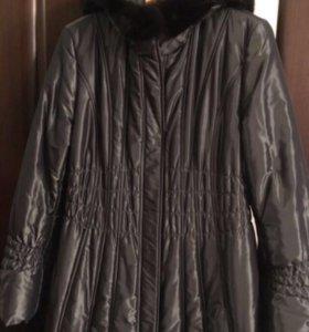 Зимние пуховое пальто женское orsa