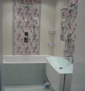 Ремонт ванной и туалетной комнаты под ключ