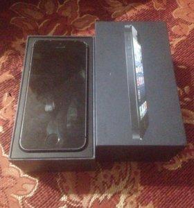 iPhone 5 16gb black LTE
