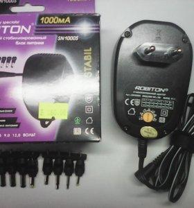 Адаптер AC/DC 220V/1.5-12V 1А SN1000SROBITON