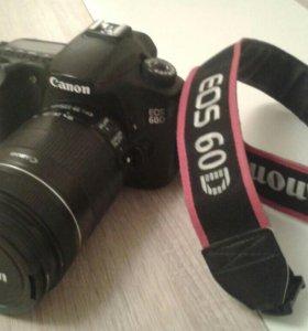 Canon 60D+EFS 18-135