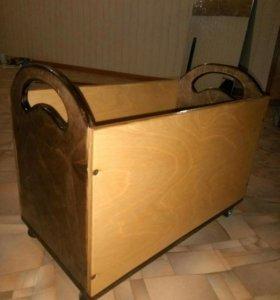 Ящик на колесиках. Новый