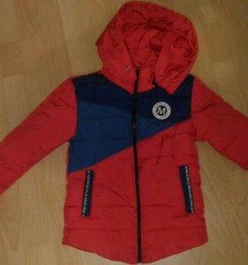 Куртка на мальчика 98-104