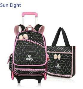 Новый Школьный рюкзак на колесиках