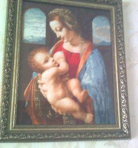 Художественная вышивка крестом- картины