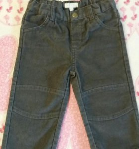 Вельветовые джинсы 74 р-ра