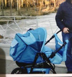 Детская коляска трансформер, зима - лето