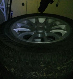 Зимние колёса cordiant r14