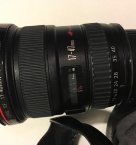 объектив Canon EF 17-40 1:4 L USM
