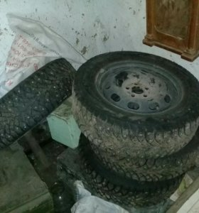 колеса нокиа на шкоду октавию