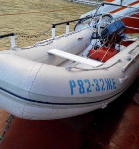 """Моторная лодка РИБ """"BRIG FALCON-F-360"""" 2008 года"""