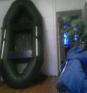 Лодка ПВХ 2- х местная
