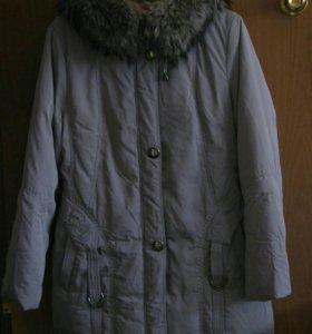 Зимняя женская куртка р 52-54