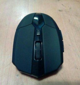 Мышь беспроводная черная