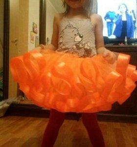 Детские праздничны юбочки