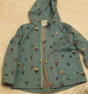 Куртка джинсовая р-р примерно 128