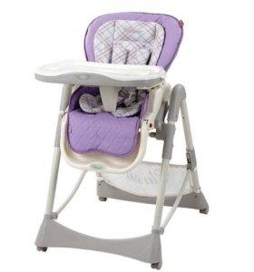 Стульчик для кормления Happy Baby William Lilac