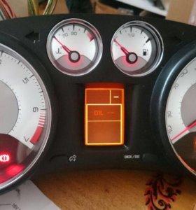 Белая панель приборов пежо 308 / 408 пробег 1км.