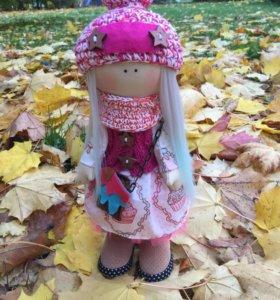 Кукла интерьерная, текстильная