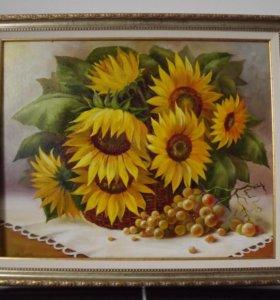 Картина маслом на холсте 50х40