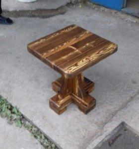 """Табурет стул """"Рыбка"""" мебель под старину"""