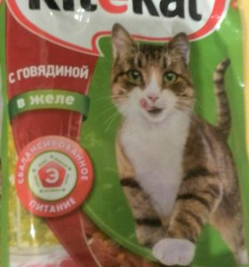 Kitekat влажный корм для кошек