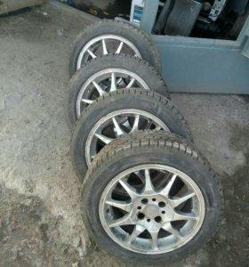 R 15 литые на ваз колёса зимние