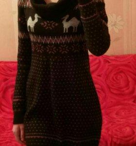 Теплое платье, S-M