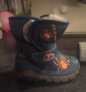 Зимние ботинки по подошве 16 см