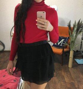 Шифоновая юбка naf naf