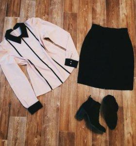 Рубашка и юбка 42-44