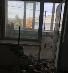 Балконный стеклопакет