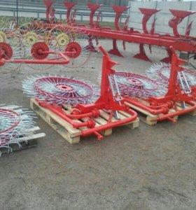 Грабли Польша 5 колес