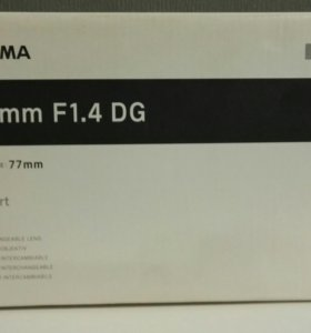 Sigma 50mm F1.4 DG ART for Nikon