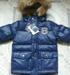 Новая зимняя куртка Футурино р. 104