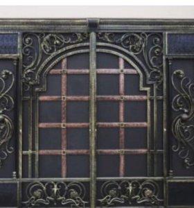 Двери ворота,перила